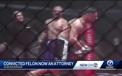 Former Felon MMA fighter now Albuquerque Attorney
